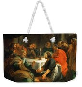 Christ Washing The Apostles' Feet Weekender Tote Bag
