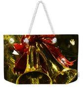 Christmas Bells Ornaments Faneuil Hall Tree Boston Weekender Tote Bag