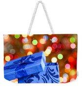 Christmas Box Weekender Tote Bag