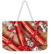Christmas Crackers Weekender Tote Bag