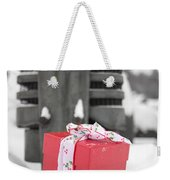Christmas Down On The Farm Weekender Tote Bag by Edward Fielding