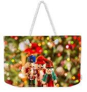 Christmas Figures Weekender Tote Bag
