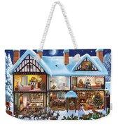 Christmas House Weekender Tote Bag