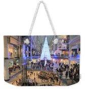 Christmas Shopping In Toronto Weekender Tote Bag