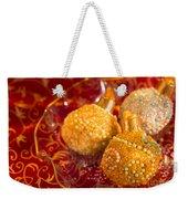Christmasball Cupcakes Weekender Tote Bag