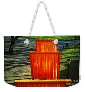 Christo - The Gates - Project For Central Park Weekender Tote Bag