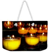 Church Candles Weekender Tote Bag