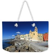 church in Camogli Weekender Tote Bag