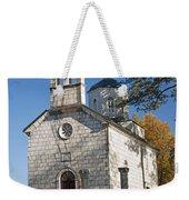 Church In Cetinje Montenegro Weekender Tote Bag