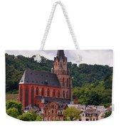 Church Of Our Lady  Oberwesel Am Rhein Weekender Tote Bag