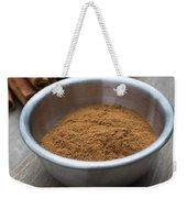 Cinnamon Spice Weekender Tote Bag