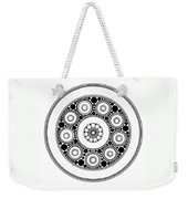 Circle Motif 138 Weekender Tote Bag