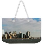 City At The Waterfront, New York City Weekender Tote Bag