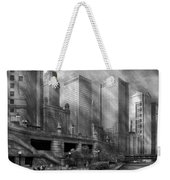 City - Chicago Il - Continuing A Legacy Weekender Tote Bag