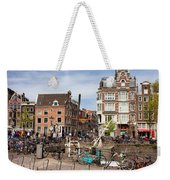 City Of Amsterdam In Netherlands Weekender Tote Bag