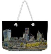 City Of London Art Weekender Tote Bag