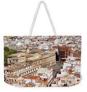 City Of Seville Cityscape In Spain Weekender Tote Bag