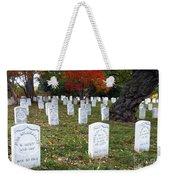 Civil War Dead At Arlington Weekender Tote Bag