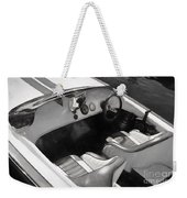 Classic Boat In Black And White Weekender Tote Bag