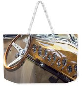Classic Car Interior Weekender Tote Bag