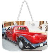 Classic Custom Pickup Truck Weekender Tote Bag