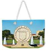 Classical Image Of The Texas Tech University Seal  Weekender Tote Bag