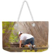 Climb On Over Weekender Tote Bag