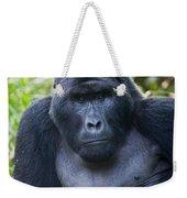 Close-up Of A Mountain Gorilla Gorilla Weekender Tote Bag
