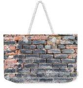 Close-up Of Old Brick Wall Weekender Tote Bag