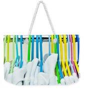 Clothes Hangers Weekender Tote Bag by Tom Gowanlock