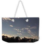 Clouds At Sunset Weekender Tote Bag
