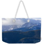 Cloudy Peak Weekender Tote Bag