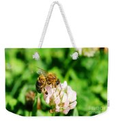 Clover Bee Weekender Tote Bag