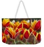Cluisiana Tulips Fractal Weekender Tote Bag