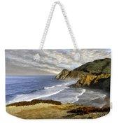 Coastal Beauty Impasto Weekender Tote Bag
