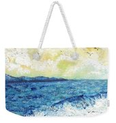 Coastal Clouds Weekender Tote Bag