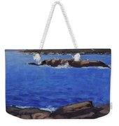 Coastal Waters Of Maine - Art By Bill Tomsa Weekender Tote Bag