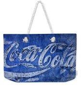 Coca Cola Blues Weekender Tote Bag