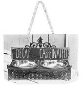 Coffee Bean Holder Weekender Tote Bag