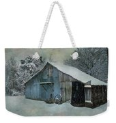 Cold Day On The Farm Weekender Tote Bag