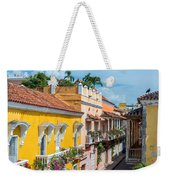 Colonial Balconies Weekender Tote Bag