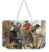 Colonial Blacksmith, 1776 Weekender Tote Bag