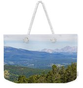 Colorado Continental Divide 5 Part Panorama 5 Weekender Tote Bag
