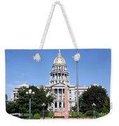 Colorado State Capitol Building Denver Weekender Tote Bag