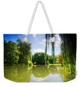 Colorful Autumn Summer Park Weekender Tote Bag