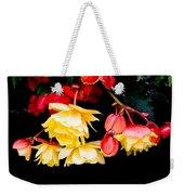 Colorful Flowers Weekender Tote Bag by Tom Gowanlock