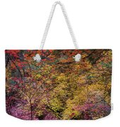 Colorful Leaves On A Tree Weekender Tote Bag