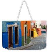 Colorful Street, Mexico Weekender Tote Bag