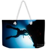 Commercial Diver At Work Weekender Tote Bag