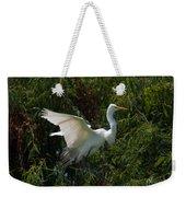 Common Egret Weekender Tote Bag